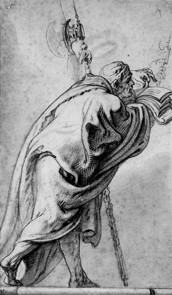 Holy Man - Theodoor van Thulden