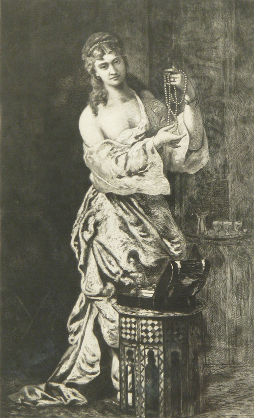 Odalisque With Pearls, 1878
