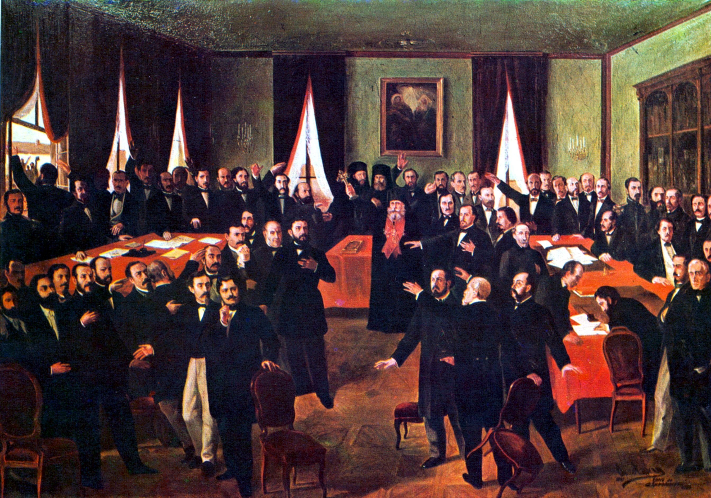 Proclaiming the Union, 1861