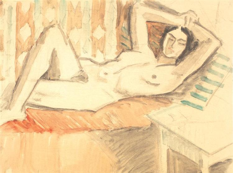 Nude on the Couch, 1943 - Theodor Pallady