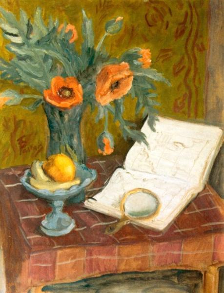 Poppy Flowers - Theodor Pallady
