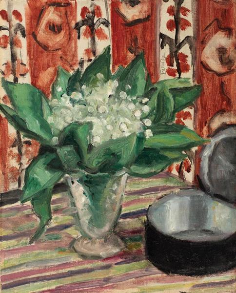 Still Life with May Lilies, 1935 - Theodor Pallady