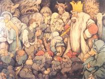 Peer Gynt In the Hall of the Mountain King - Theodor Severin Kittelsen