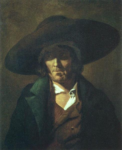 A man, 1815 - 1819 - Théodore Géricault