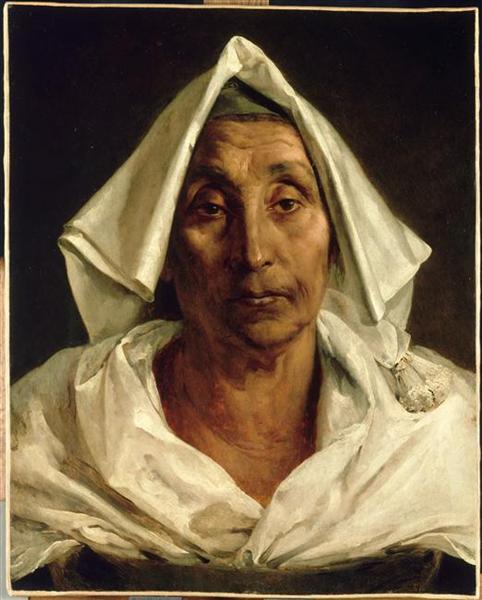 Old Italian peasant, 1824 - Theodore Gericault - WikiArt.org Theodore Géricault