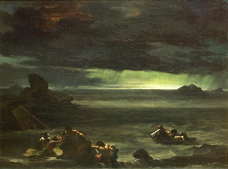 Scene of the Deluge, 1820 - Théodore Géricault