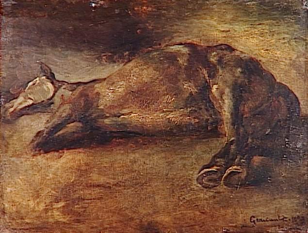 StudyforDead horse, 1823 - Théodore Géricault