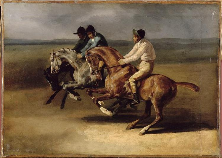 The Horse Race, 1820 - 1824 - Théodore Géricault
