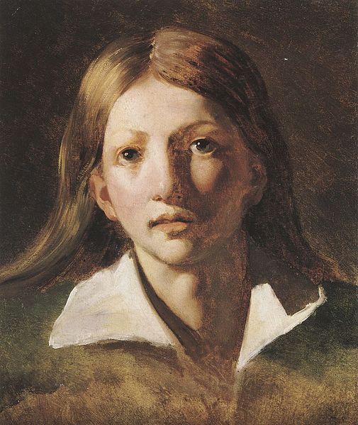 Young blond man, 1818 - 1819 - Théodore Géricault