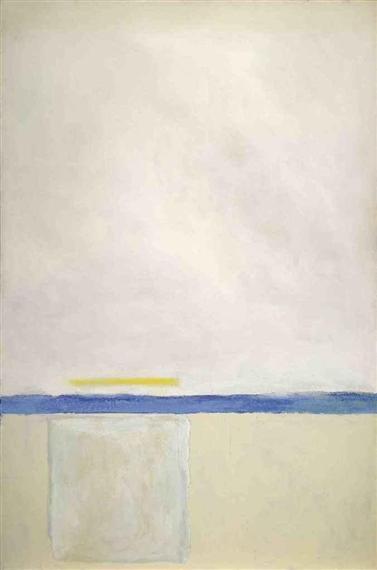 Low White Sun Box, 1965 - Theodoros Stamos