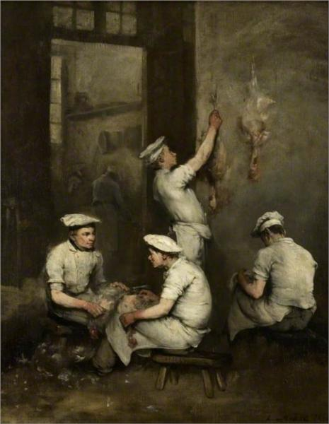 The Cooks, 1862 - Theodule Ribot