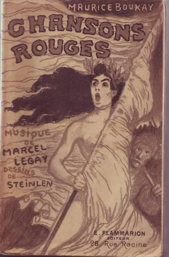 Chansons Rouges, 1897 - Théophile Alexandre Steinlen