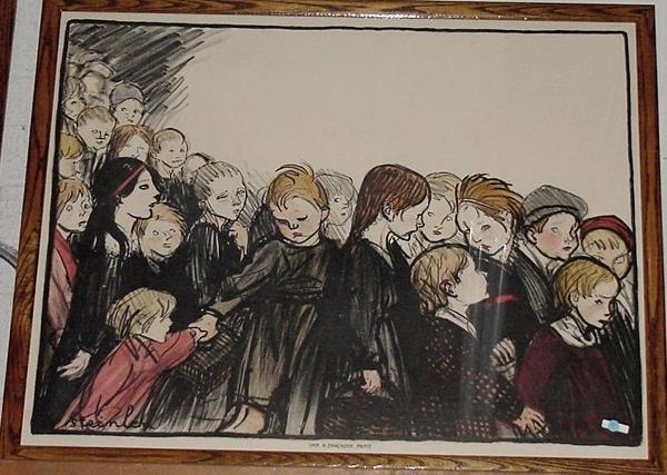 Children Poster, 1886 - Théophile Alexandre Steinlen