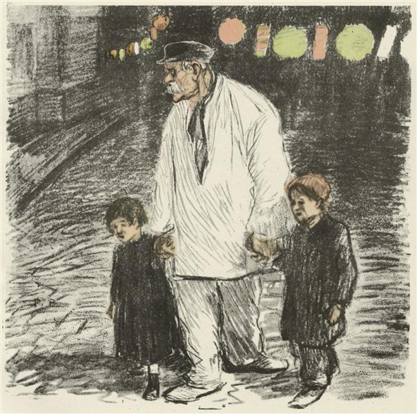 Fete Nationale, 1894 - Theophile Steinlen