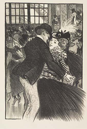 J'ai Voulu Fuir, 1899 - Theophile Steinlen