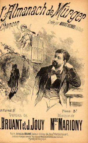 L'Almanach de Murger - Théophile Alexandre Steinlen