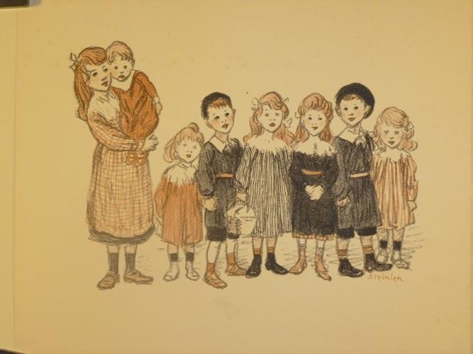 L'Art a L'Ecole, 1912 - Theophile Steinlen