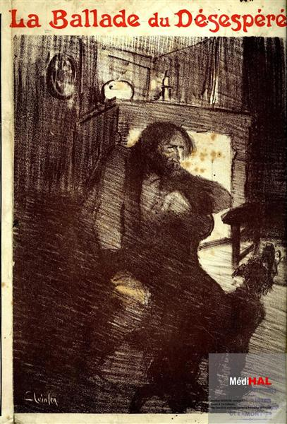 La Ballade du Desespere, 1896 - Теофиль Стейнлен