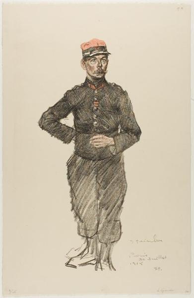 La Legionnaire, 1915 - Theophile Steinlen