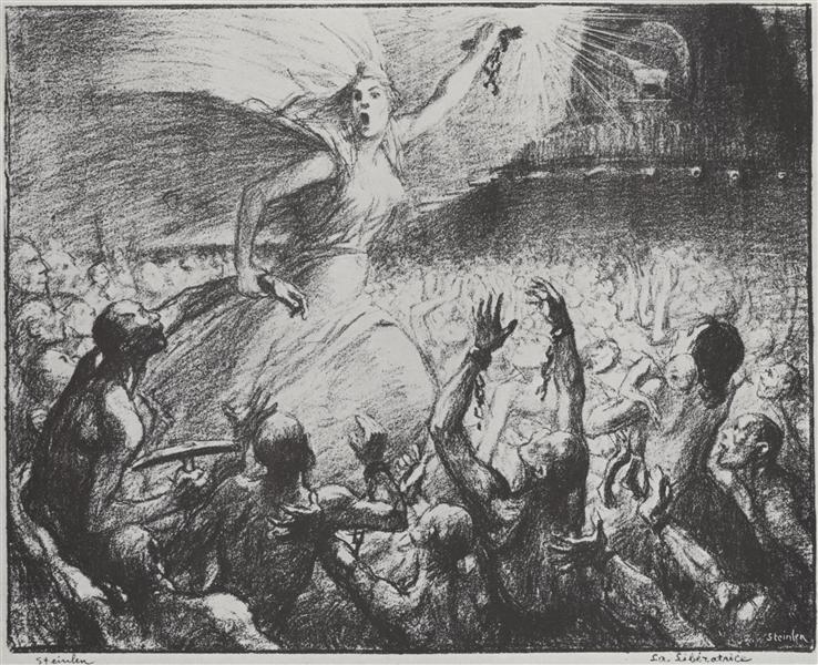 La Liberatrice, 1903 - Theophile Steinlen