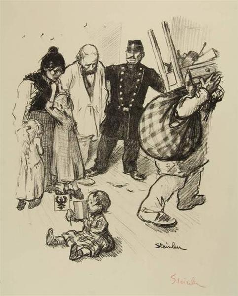 La Terme Franco-Russe, 1897 - Theophile Steinlen