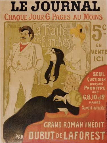 La Traite Des Blanches, 1899 - Théophile Alexandre Steinlen