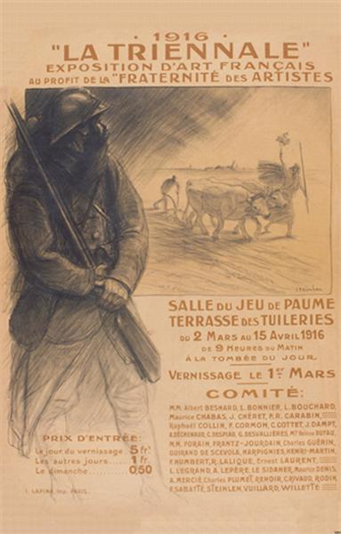La Triennale, 1916 - Théophile Alexandre Steinlen