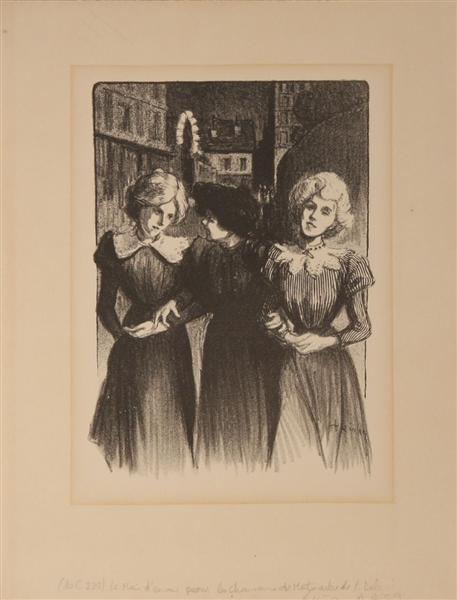 Le Mai d'Amour, 1899 - Theophile Steinlen