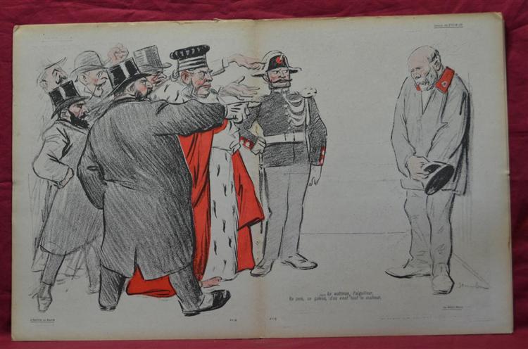 Le Metro Necro, 1903 - Théophile-Alexandre Steinlen