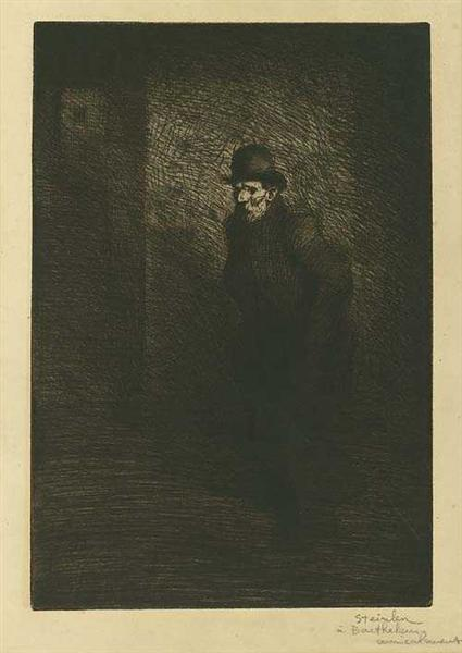Le Pauvre Here, 1902 - Theophile Steinlen