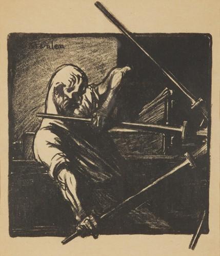 Le Transporteur, 1906 - Theophile Steinlen