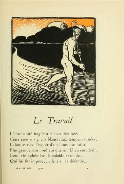 Le Travail - Theophile Steinlen