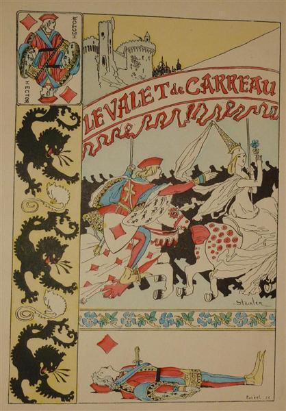 Le Valet de Carreau - Теофіль Стейнлен