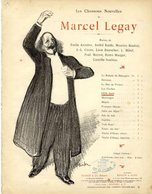 Les Chansons Nouvelles de Marcel Legay - Теофіль Стейнлен