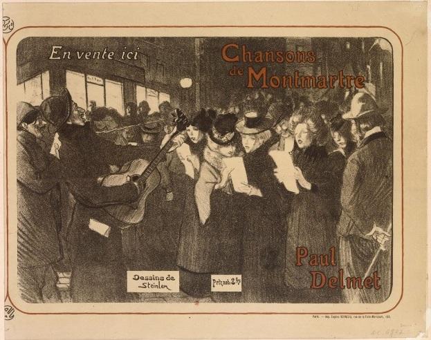 Les Chanteurs des Rues, 1899 - Theophile Steinlen