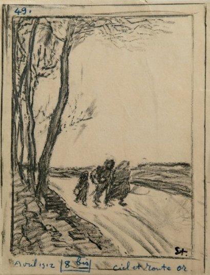 Les Trimardeurs, 1912 - Theophile Steinlen