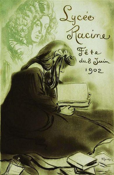 Lycee Racine - Fete du 8 Juin 1902, 1902 - Theophile Steinlen