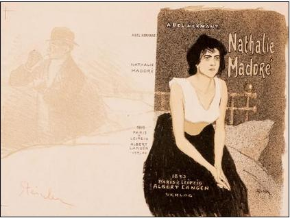 Nathalie Madore, 1895 - Theophile Steinlen