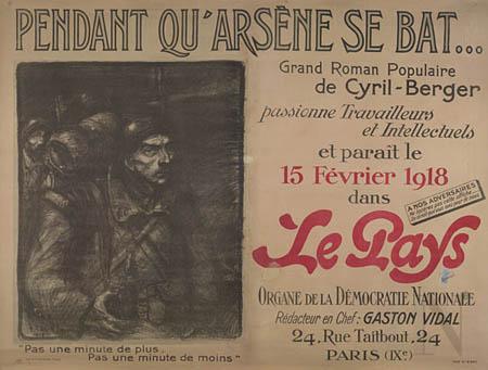 Pendant Qu-Arsene se bat, 1918 - Теофіль Стейнлен