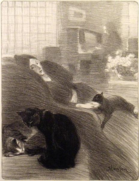 Quand Nous Serons Vieux, 1897 - Théophile-Alexandre Steinlen