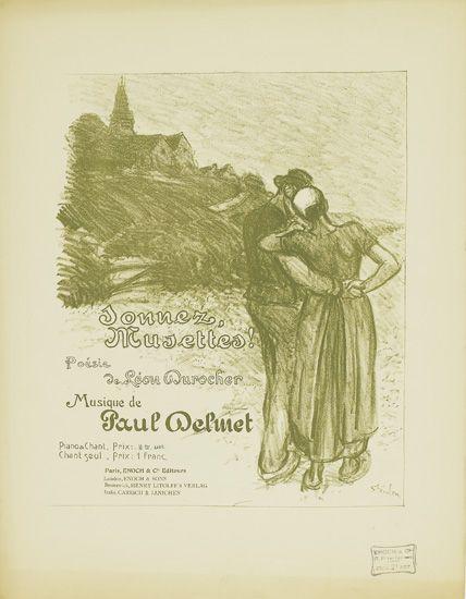 Sonnez Musettes, 1899 - Theophile Steinlen