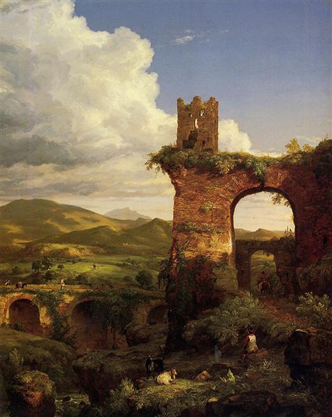 Arch of Nero, 1846 - Thomas Cole