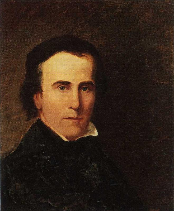 Self-Portrait - Thomas Cole - WikiArt.org - encyclopedia of visual ...