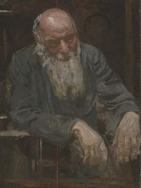 Study of an old man, 1911 - Thomas Eakins