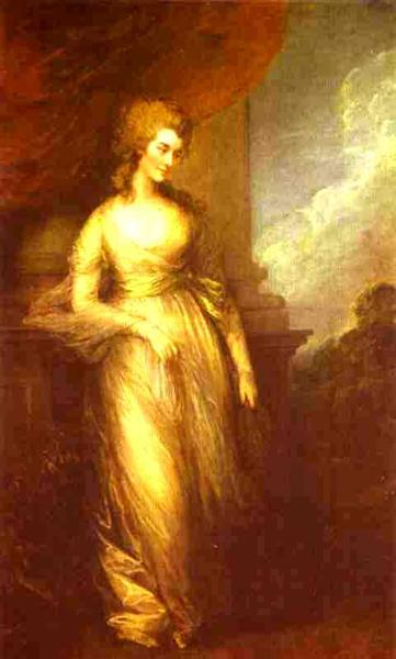 Georgiana, Duchess of Devonshire, 1783 - Thomas Gainsborough