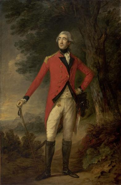 Lord Hastings, Governor of India - Thomas Gainsborough