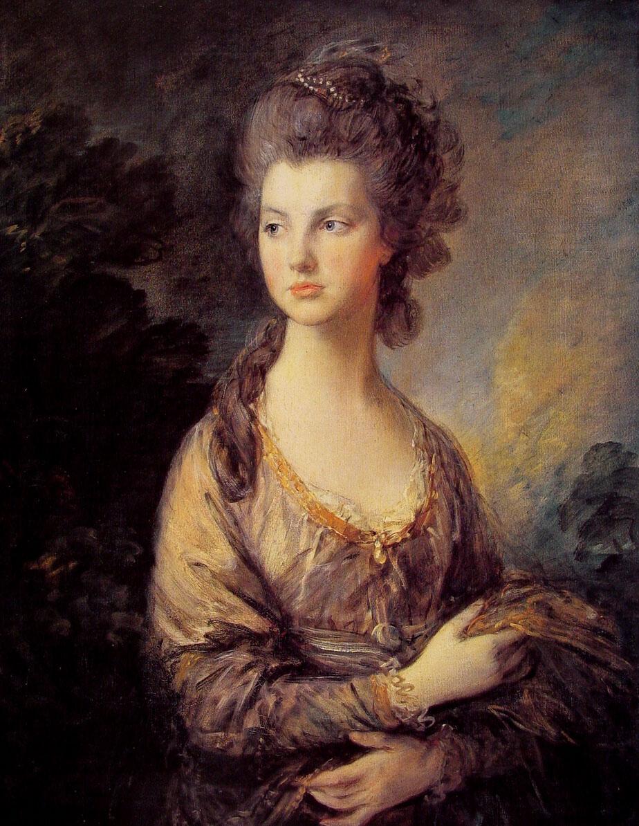 Peintres anglais du xviii me si cle for Artiste peintre anglais