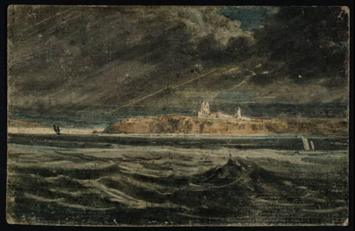 Tynemouth Priory from the Sea, 1797 - Thomas Girtin