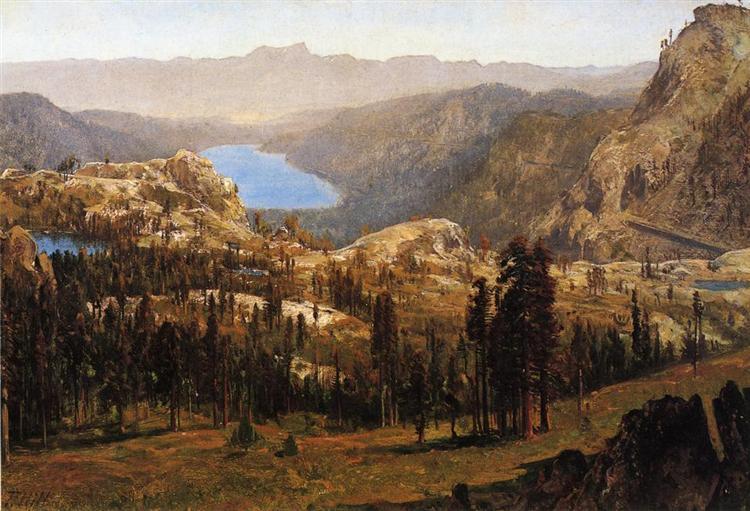 Donnner Lake 1874 - Thomas Hill
