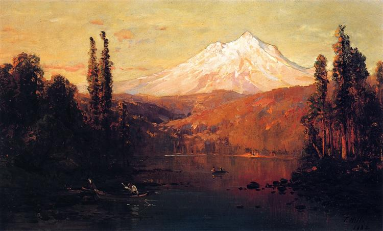 Mount Shasta, 1882 - Thomas Hill